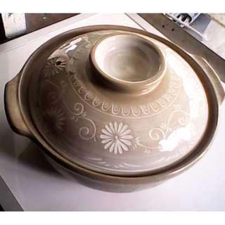 Small mocha colored  Claypot