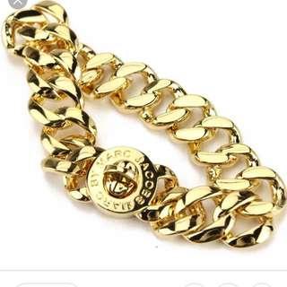 Marc By Marc Jacobs turnlock small katie bracelet