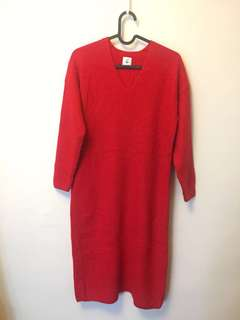 Beauty & youth cashmere knitted dress