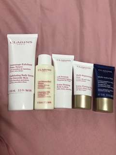 Clarins Products (5pcs)