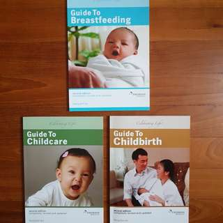 Guide to Childbirth / Guide to Childcare / Guild to Breastfeeding by Wong Boh Boi