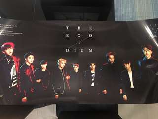 Exo 3巡 The Exo'rdium Global package poster