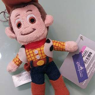 胡迪Woody Toy Story 公仔鎖匙扣