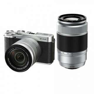 Fujifilm X-A2 Lensa ganda 16-50mm & 50-230mm Kredit bisa