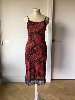 Size Med - George Ermis fringed dress