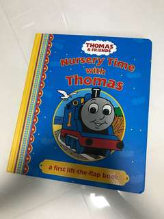 Nursery time with Thomas and Friends (lift the flap book)