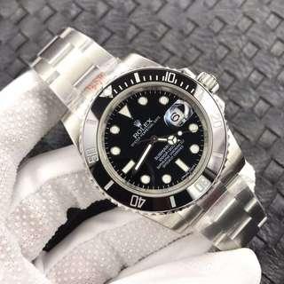 環亞   Rolex Submariner 116610 LN 黑圈黑面 904L N廠 V7升級 3135機芯 面交