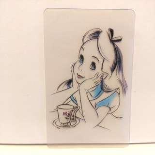 愛麗絲 Alice 分裝卡