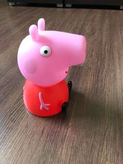 Pre-loved peppa pig coin bank