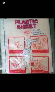 Plastic cover, sheet