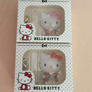 Limited Edition brand new Hello Kitty Red and Pink Ezlink charms for $28 each.