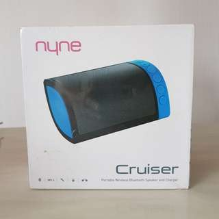 Brand New Nyne cruiser wireless bluetooth speaker