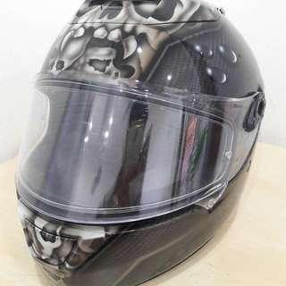 Shark Speed-R Carbon Skin Helmet (Custome Airbrushed)