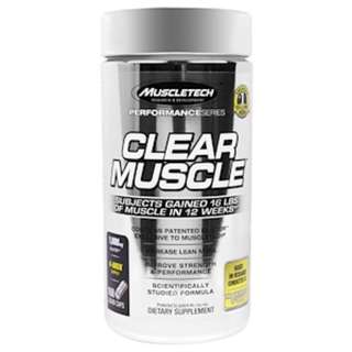 SALE Muscletech, Clear Muscle, 168 Liquid Caps