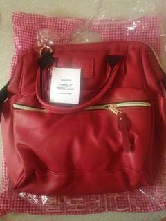 ON HAND BAG ( ANELLO MEDIUM) color RED