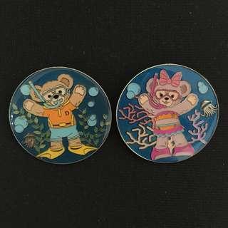 迪士尼 Duffy ShellieMay 徽章