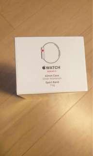 未開封 Apple Watch series 3 42mm with gps and cellular