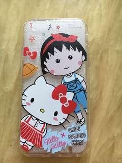 小丸子x Hello Kitty 手機套