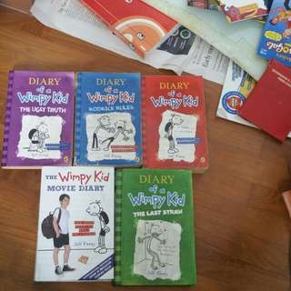 Diary Of A Wimpy Kid entire series.