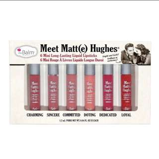 Meet Matte Hughes®Set of 6 Mini Long-Lasting Liquid Lipsticks