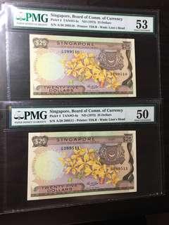 🔥yellow paper 🔥2 run🔥orchid series twenty five dollar (AU)