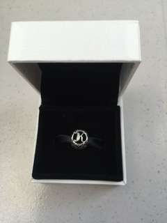 Authentic pandora charm letter K