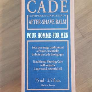 BNIB Loccitane After shave balm for men 75ml