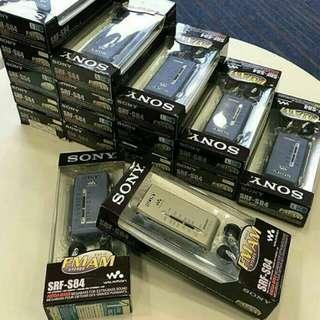DSE SONY-SRF S84收音機 多位補習名師推薦,信譽之選  ⋯ (單買(剩機): $400一部)(剩3部) ⋯(有盒有耳機:$460一部)(剩5部) 交收時可check機