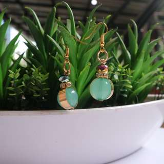 Anting mut baby green