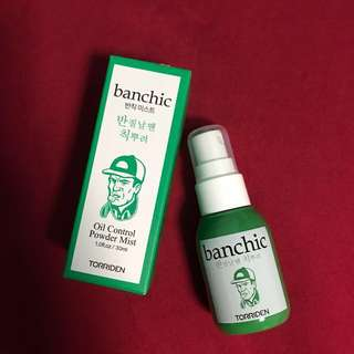 Banchic Oil Control Powder Mist