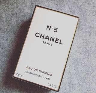 Chanel No 5 perfume authentic