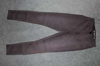 Cotton On High Waisted Jeggings (Gray)