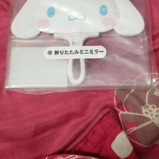 日本sanrio一番賞玉桂狗鏡