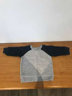 Indie kids and H&M Boys size 0 sweaters x2