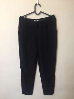Acne studio tapered trousers sz8