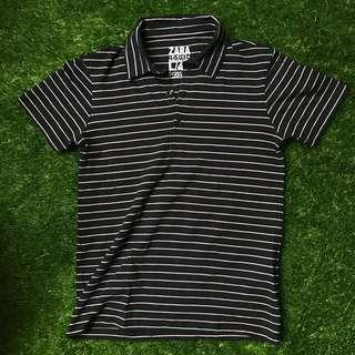Zara Basic Polo Shirt Large