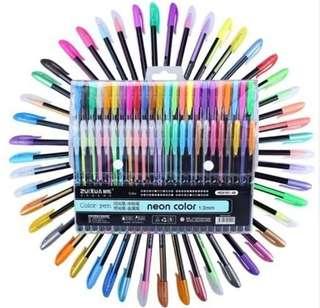 48 Colours Gel Pen set