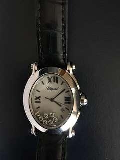 CHOPARD Happy Sport Diamonds Oval Watch