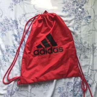 Unisex adidas drawstring bag