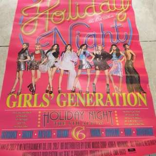 Poster SNSD Girls' Generation Holiday
