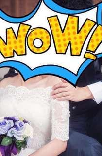 婚禮穿過一次的衣服和鞋
