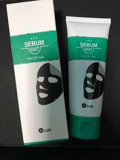 W-Lab Sebum Out Peel Off Pack