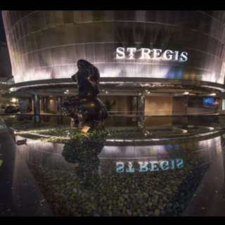 St Regis hotel 2d1n stay for 2 with breakfast