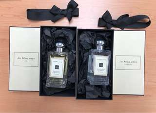 Jo Malone English oak & redcurrant , English pear & freesia
