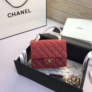 Chanel香奈兒 升級版 A1115 cf17cm 進口牛皮