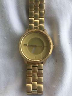 Nixon the divvy watch gold