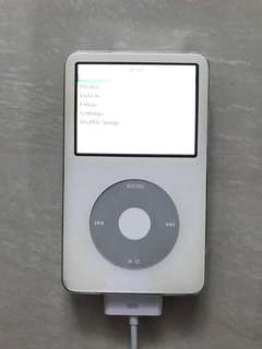 Ipod Classic White Apple Reconditioned with Tarkan Flash