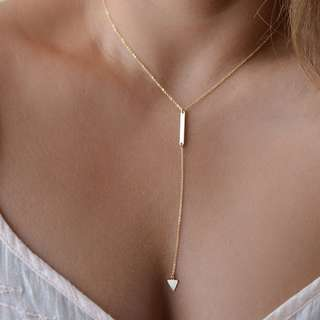 Women Bohemia Little Triangular Necklace