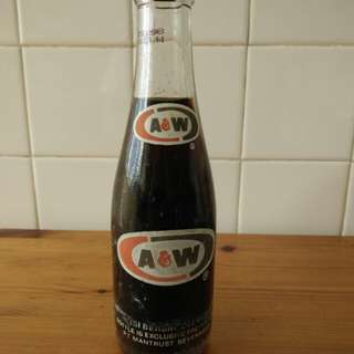 A&W Glass Cola
