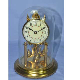 ANTIQUE VINTAGE M.REINER GERMANY MECHANICAL WIND UP ANNIVERSARY CLOCK